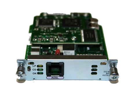 Cisco HWIC-1ADSL - Single Port aDSL WAN Interface Card