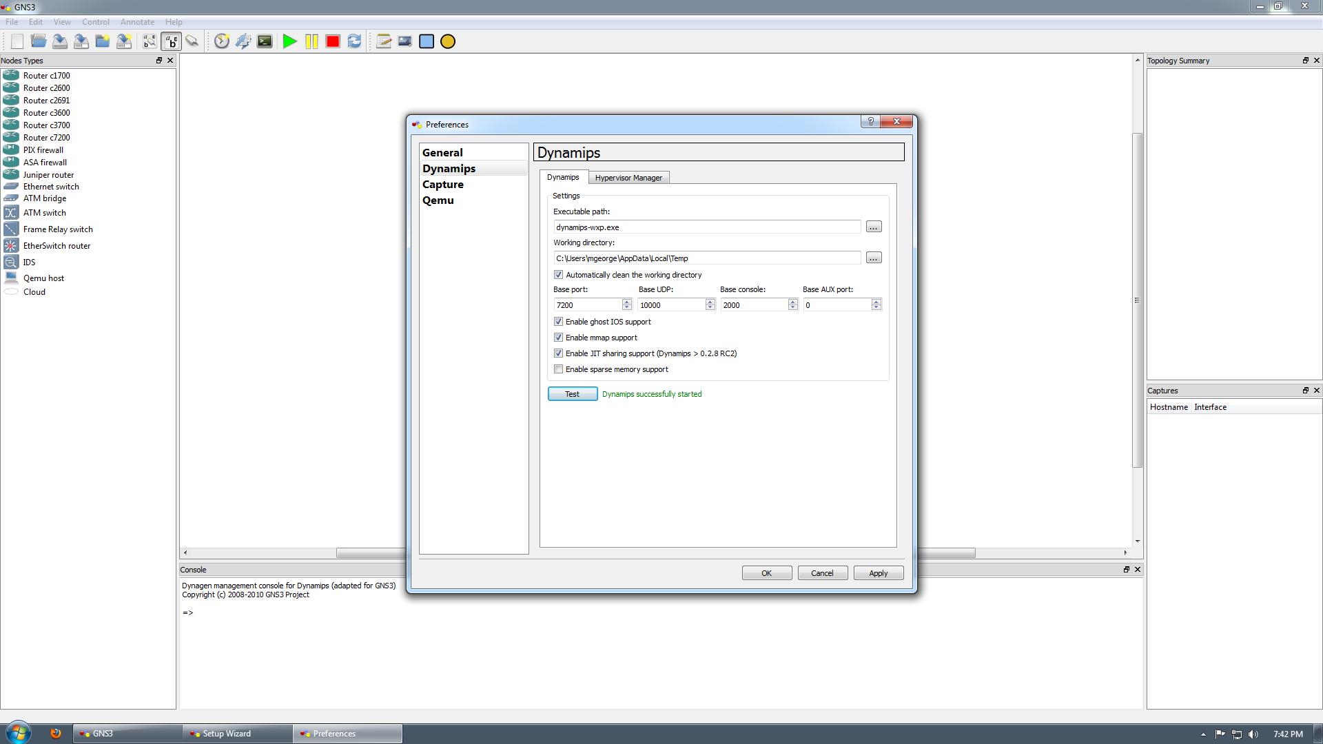 Basic Graphic Network Simulator v3 Configuration   Free CCNA